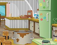Kitchen Vector Backgrounds