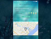 UI for Restourant Map