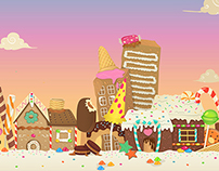 Sweet World Vector Background