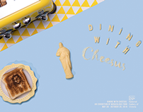 'Dining with Cheesus' Poster