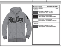 Hurley Winter 2012 Boy's Rebellion Zip
