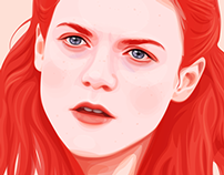 Portrait of Ygritte