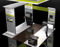 Bose Professional Division 20x20 Exhibit Design