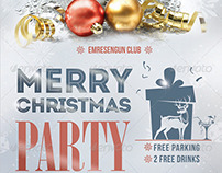 Christmas Party Flyer - Christmas Party Poster