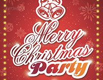 Christmas Party Flyer - Merry Christmas Party