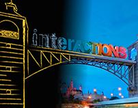 INTERACTIONS 2014 - Website Design