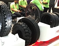 Exhibition Stall - MAXXIS & CS Tire