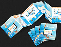Brochure designing for the website development company