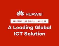 Huawei - Corporate Website redesign