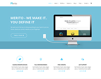 MERITO - Multipurpose PSD Template