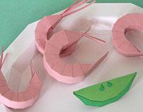 Artbox BBQ - paper craft