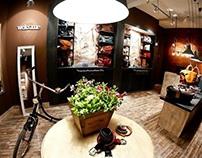 Menhard leather good store in Sibiu
