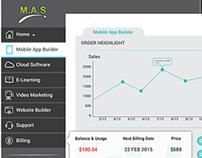 Moble App Solutions (MAS) UI/UX