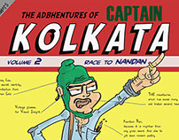 The Adbhentures of Captain Kolkata!