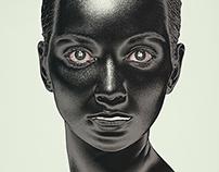Keramikkopf schwarz