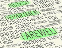 Biotech Department Farewell 2014