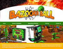 Bazooka Ball Web Design