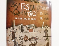 Cartaz Festa do Quentão