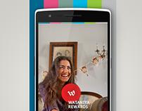 Wataniya Telecom Rewards App