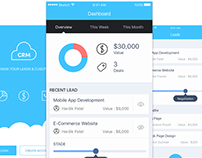 Cloud CRM Mobile App