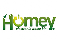 Homey eWaste Bin Product Design
