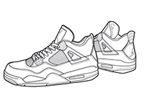 Air Jordan Retro 4 CW's