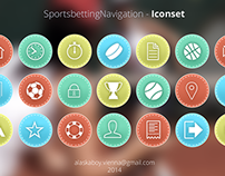 SPORTS BETTING ICONSET