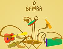 O Samba me faz feliz!