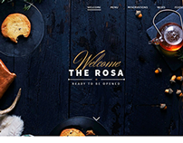 ROSA - An Exquisite Restaurant WordPress Theme