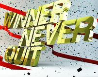 Winner Never Quit
