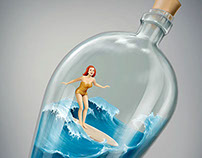 Surf bottle