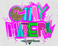 Only Haters Lettering