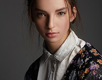 Model Test - Sophie at Major Model Management NYC