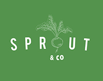 Sprout & Co. branding design