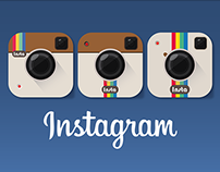 Instagram icon for iOS 8