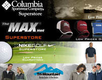 Web Banners for Triple Crown Products Website