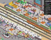 Stasiun Bandung Infotainment Map