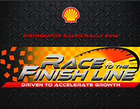 SHELL'S DISTRIBUTOR SALES RALLY