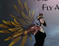 FND135 - Movie Poster: Let's Build Wings and Fly Away