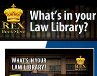 Rex Bookstore What's in your Law Library Series
