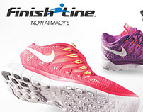 Finish Line Postcard- Nike Free 5.0