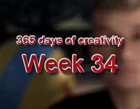 365 days of creativity/art - Week 34