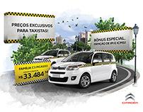 Ação Promocional da Citroën para taxistas