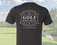 Golf Republic - Apparel Designs (Concepts Only)