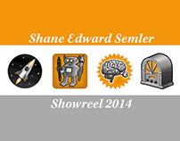 Shane Edward Semler Showreel 2014