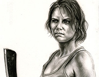 Walking Dead Portrait Series