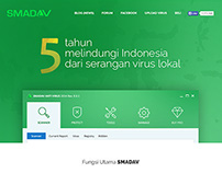SMADAV Redesign Concept