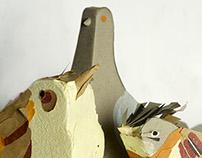 Pájaros en papel