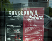 Shakedown Kitchen Menu