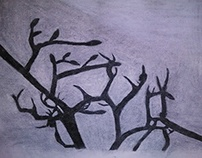 Charcoal Branches